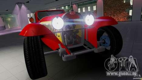 Bugatti Type 41 Royale Coupe Napoleon 1927 pour GTA 4 Vue arrière de la gauche