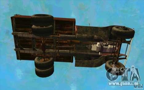 GAZ-AA pour GTA San Andreas vue de dessus