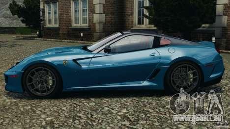 Ferrari 599 GTO 2011 pour GTA 4 est une gauche