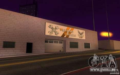 HQ Auto-Salon in San Fierro exklusive Autos für GTA San Andreas dritten Screenshot
