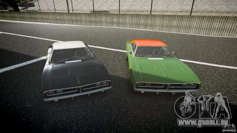 Dodge Charger RT 1969 v1.0 pour GTA 4 Salon