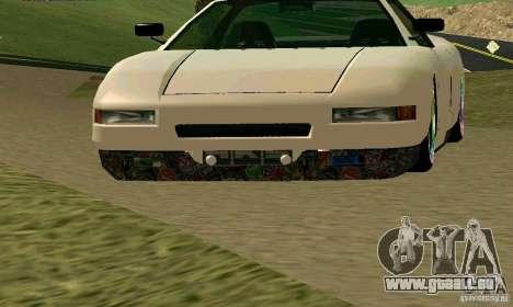 New Infernus pour GTA San Andreas laissé vue