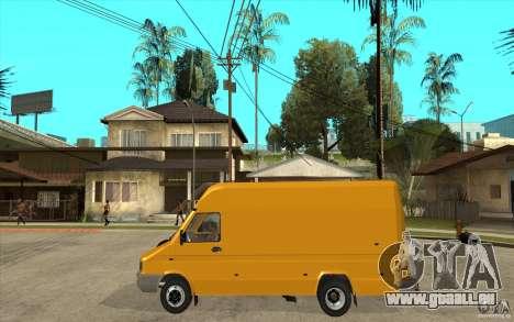 Iveco Turbo Daily für GTA San Andreas linke Ansicht