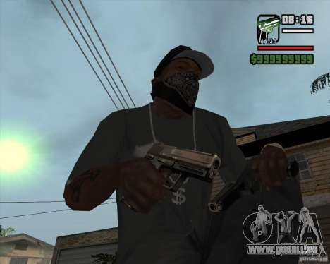 9mm x 19 pour GTA San Andreas