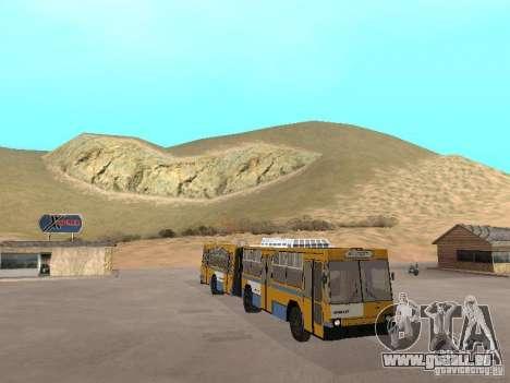 FEROUK T1 pour GTA San Andreas vue de côté