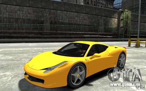 Ferrari 458 Italia 2010 v3.0 pour GTA 4