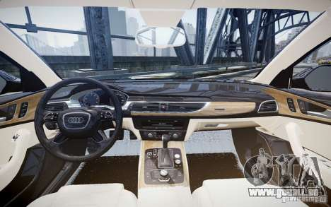Audi A6L für GTA 4 linke Ansicht