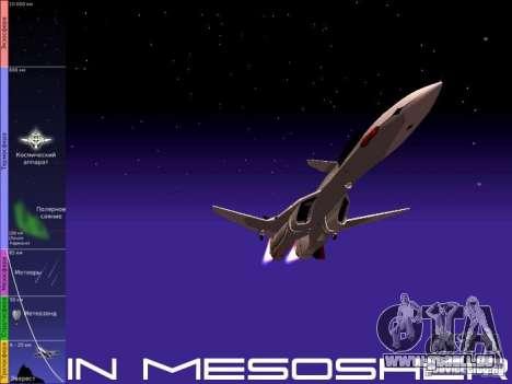 Vol dans la mésosphère pour GTA San Andreas