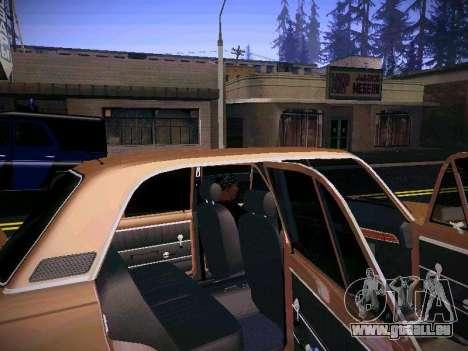VAZ 21011 pour GTA San Andreas vue intérieure