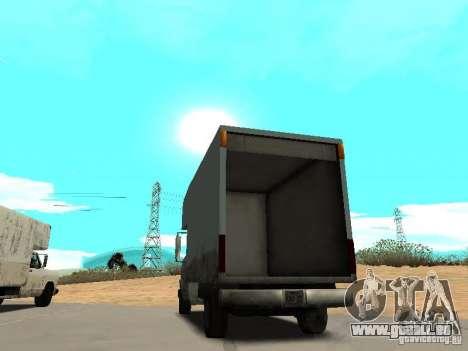 New Mule für GTA San Andreas zurück linke Ansicht