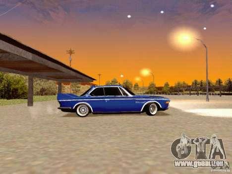 BMW 30 CSL Drift für GTA San Andreas linke Ansicht