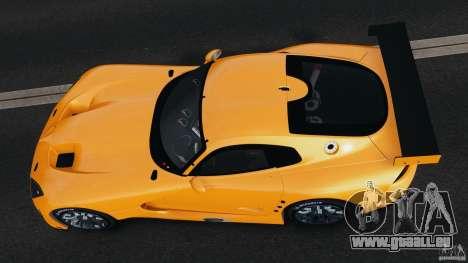 SRT Viper GTS-R 2012 v1.0 für GTA 4 Rückansicht