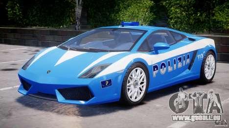 Lamborghini Gallardo LP560-4 Polizia pour GTA 4 est une gauche