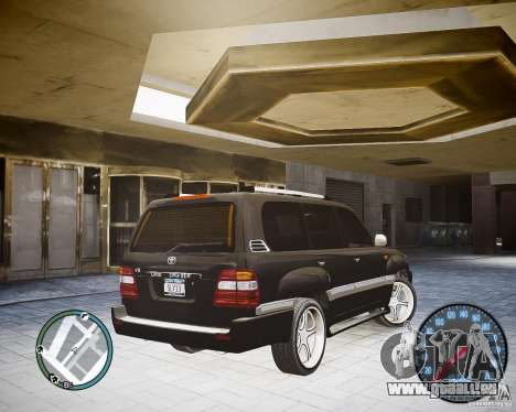 Toyota Land Cruiser 100 für GTA 4 linke Ansicht