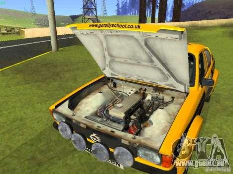 Opel Kadett pour GTA San Andreas vue de côté