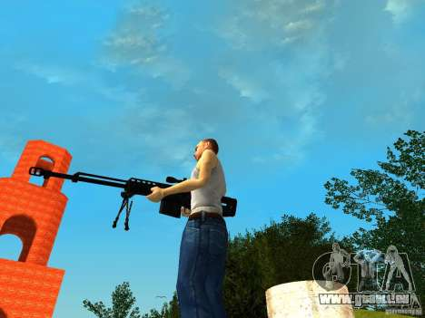 Accuracy International AS50 für GTA San Andreas her Screenshot