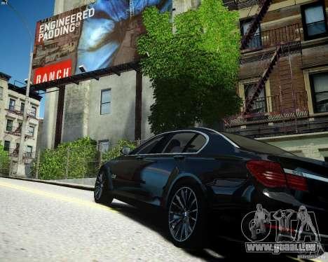 BMW 750Li 2013 pour GTA 4 est une gauche