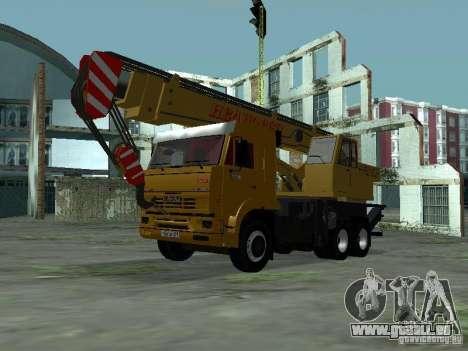 KAMAZ 65117 Ivanovets pour GTA San Andreas laissé vue