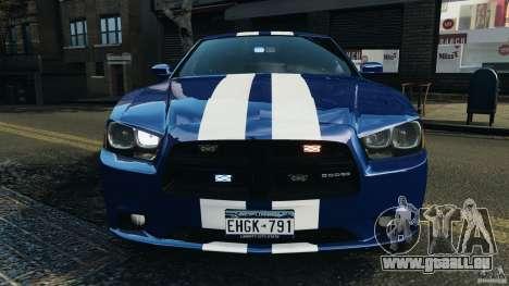 Dodge Charger Unmarked Police 2012 [ELS] für GTA 4 Innen