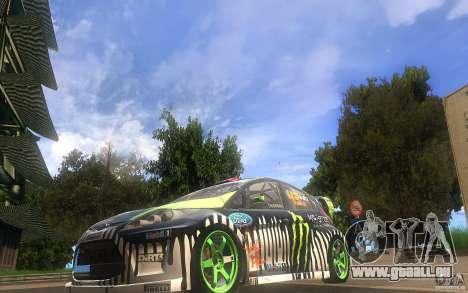 Ford Fiesta Gymkhana pour GTA San Andreas laissé vue