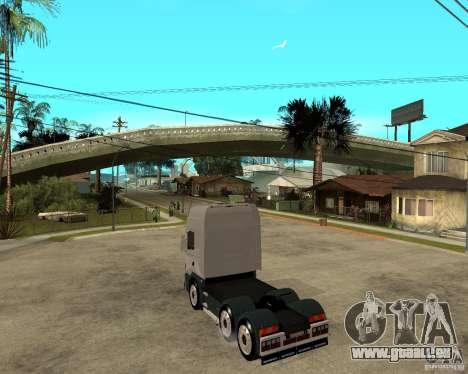 Scania 164L 580 pour GTA San Andreas laissé vue
