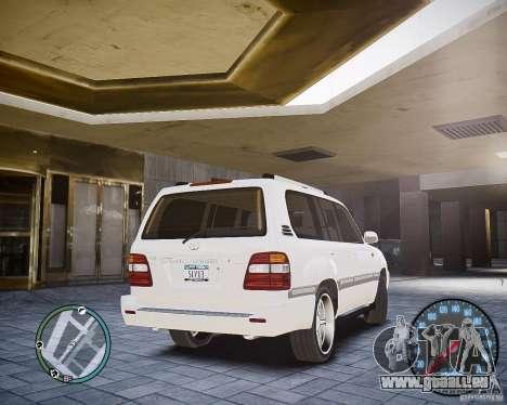 Toyota Land Cruiser 100 für GTA 4 hinten links Ansicht