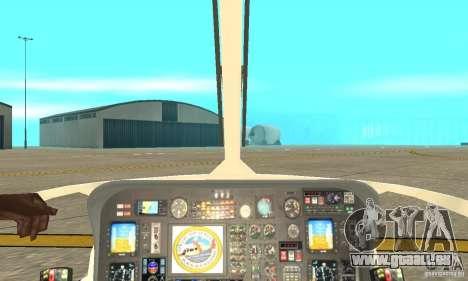 AS-365N United States Coast Guard pour GTA San Andreas vue arrière
