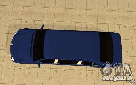 Mercedes-Benz S600 Pullman W220 für GTA San Andreas rechten Ansicht