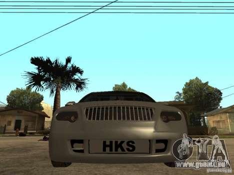Skoda Octavia Custom Tuning pour GTA San Andreas vue de droite