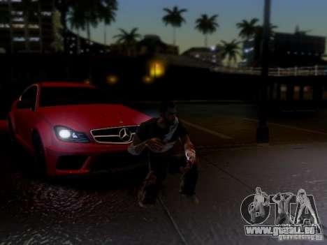 Mercedes Benz C63 AMG C204 Black Series V1.0 pour GTA San Andreas vue de côté