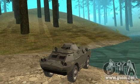 Version hiver BRDM-2 pour GTA San Andreas