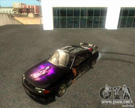 Nissan Skyline R32 GTS-T type-M für GTA San Andreas Rückansicht