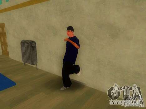 Tricking Gym für GTA San Andreas her Screenshot