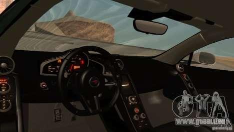 McLaren MP4-12C 2012 für GTA San Andreas Seitenansicht