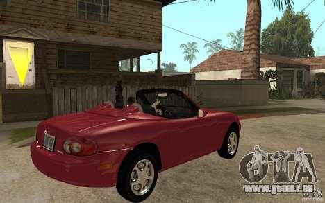 Mazda MX5 - Stock für GTA San Andreas rechten Ansicht