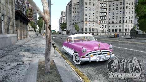 Hudson Hornet Coupe 1952 pour GTA 4 Vue arrière de la gauche