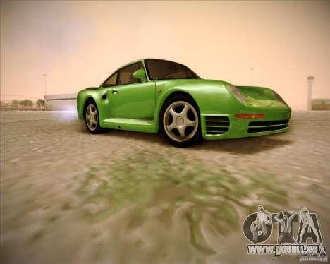 Porsche 959 1987 für GTA San Andreas rechten Ansicht
