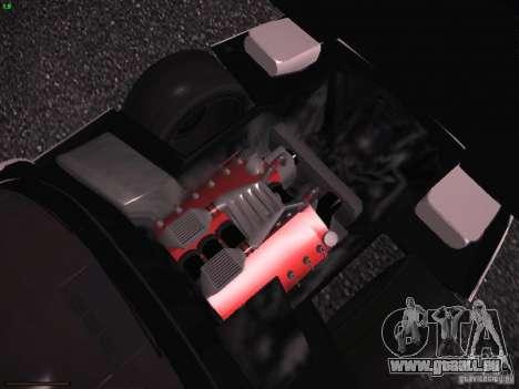 Chevrolet Corvette Grand Sport für GTA San Andreas Unteransicht