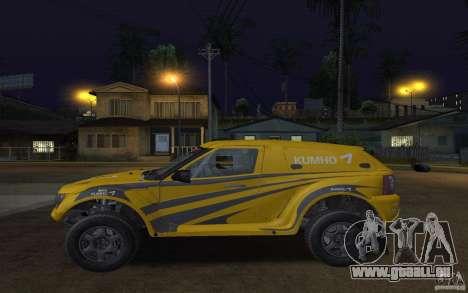 Bowler Nemesis pour GTA San Andreas laissé vue