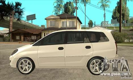 Toyota Innova Lowrider Rims 2 für GTA San Andreas linke Ansicht