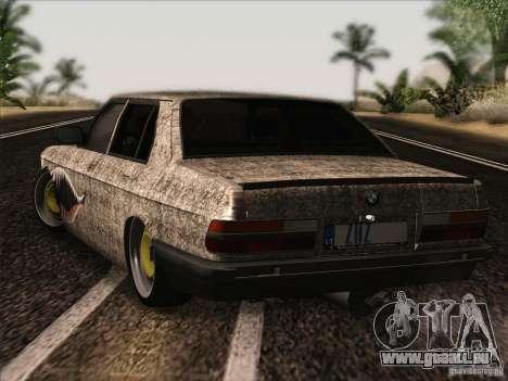BMW E28 525E RatStyle pour GTA San Andreas vue de droite
