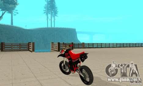 DT 180 Motard pour GTA San Andreas vue de droite