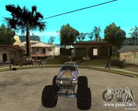Bounty Hunter pour GTA San Andreas vue arrière