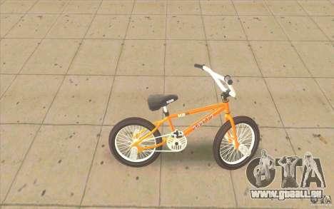 K2B Ghetto BMX pour GTA San Andreas laissé vue
