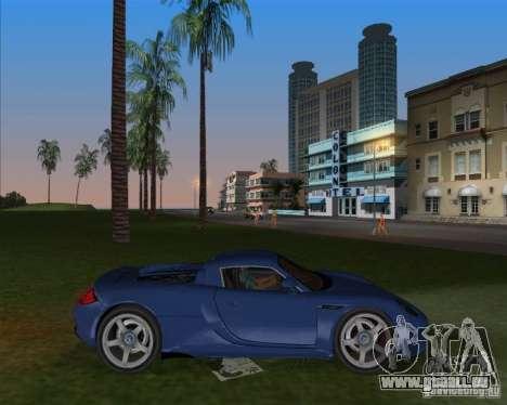 Porsche Carrera GT für GTA Vice City linke Ansicht
