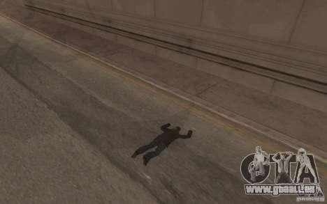 Global fashion parachute pour GTA San Andreas sixième écran