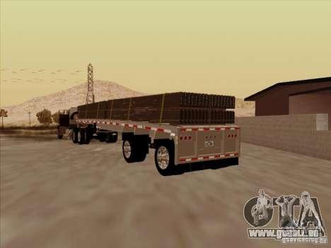 Trailer Artict1 pour GTA San Andreas sur la vue arrière gauche