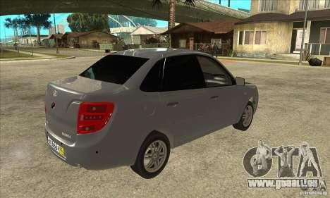 2190-VAZ Lada Granta Grant pour GTA San Andreas vue de droite
