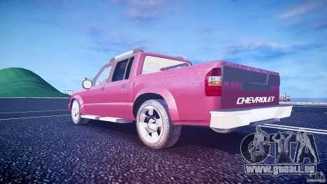 Chevrolet S10 für GTA 4 Unteransicht