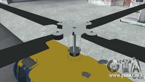 GTA IV News Maverick für GTA San Andreas linke Ansicht